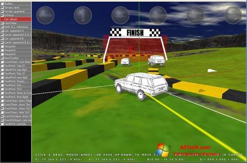 Στιγμιότυπο οθόνης 3D Rad Windows 7