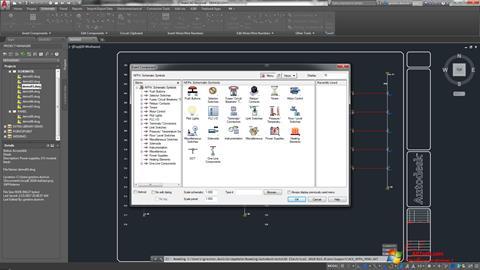 Στιγμιότυπο οθόνης AutoCAD Electrical Windows 7