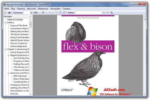 Στιγμιότυπο οθόνης Sumatra PDF Windows 7