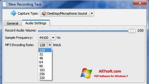 Στιγμιότυπο οθόνης SMRecorder Windows 7
