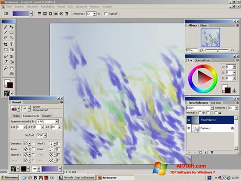 Στιγμιότυπο οθόνης Artweaver Windows 7