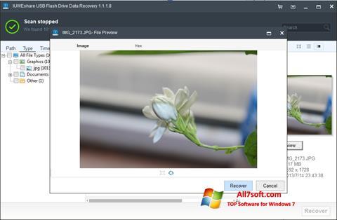 Στιγμιότυπο οθόνης USB Flash Drive Recovery Windows 7