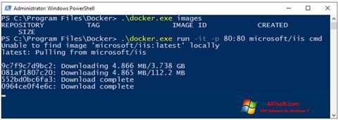 Στιγμιότυπο οθόνης Windows PowerShell Windows 7