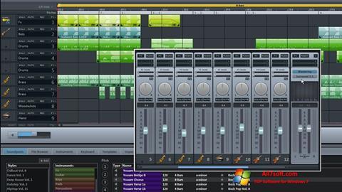 Στιγμιότυπο οθόνης MAGIX Music Maker Windows 7