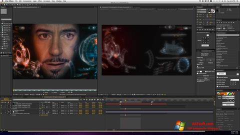 Στιγμιότυπο οθόνης Adobe After Effects Windows 7