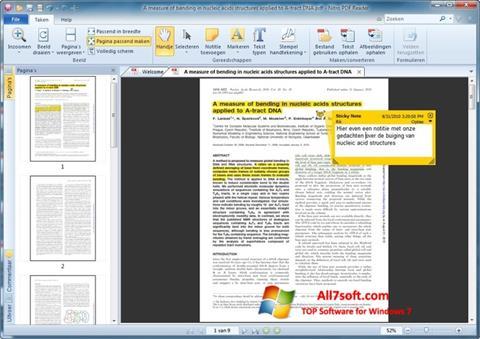 Στιγμιότυπο οθόνης Nitro PDF Reader Windows 7
