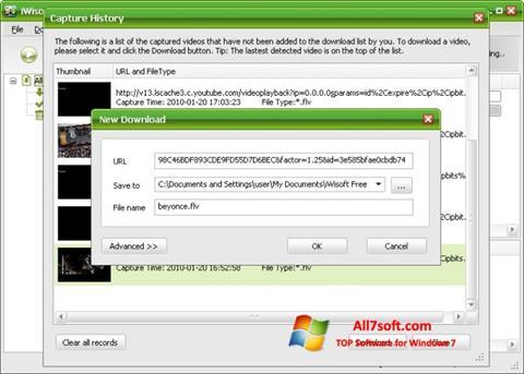 Στιγμιότυπο οθόνης Free Video Catcher Windows 7