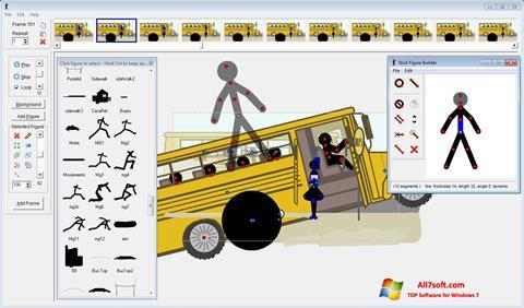 Στιγμιότυπο οθόνης Pivot Animator Windows 7
