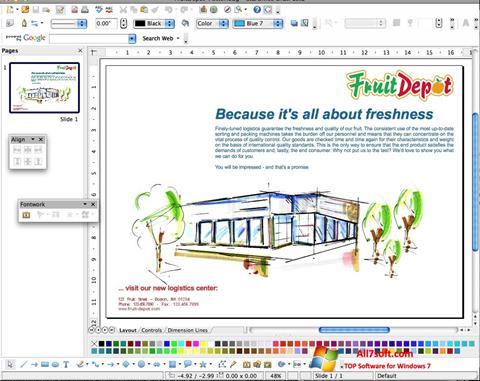 Στιγμιότυπο οθόνης Apache OpenOffice Windows 7
