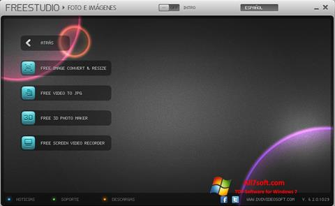Στιγμιότυπο οθόνης Free Studio Windows 7