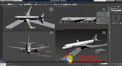 Στιγμιότυπο οθόνης 3ds Max Windows 7
