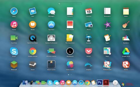 Στιγμιότυπο οθόνης OS X Flat IconPack Installer Windows 7