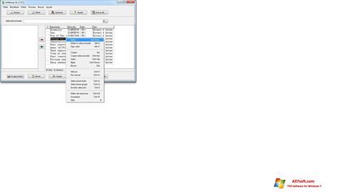 Στιγμιότυπο οθόνης ArtMoney Pro Windows 7
