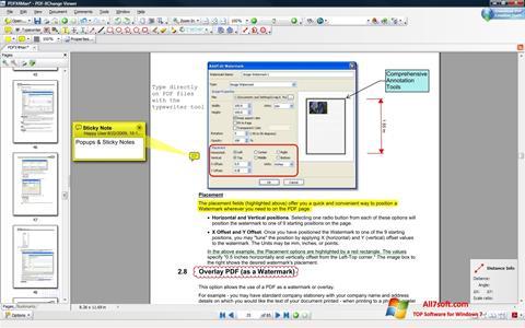 Στιγμιότυπο οθόνης PDF-XChange Viewer Windows 7