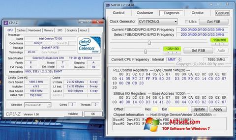 Στιγμιότυπο οθόνης SetFSB Windows 7