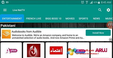 Στιγμιότυπο οθόνης Net TV Windows 7