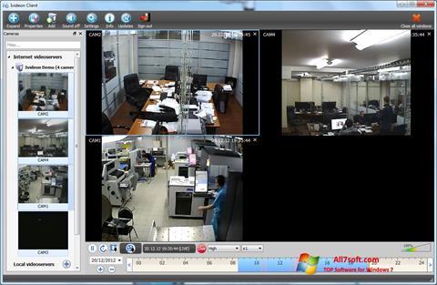 Στιγμιότυπο οθόνης Ivideon Server Windows 7