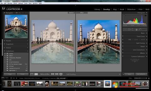 Στιγμιότυπο οθόνης Adobe Photoshop Lightroom Windows 7