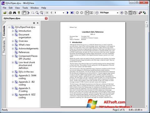 Στιγμιότυπο οθόνης WinDjView Windows 7