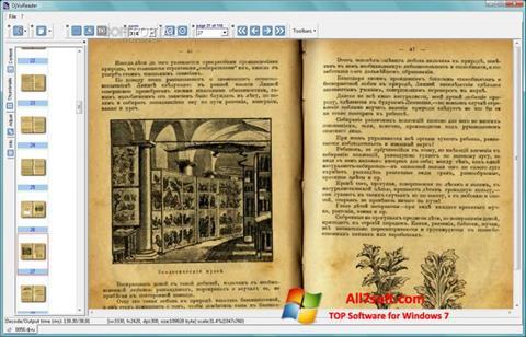 Στιγμιότυπο οθόνης DjVu Reader Windows 7
