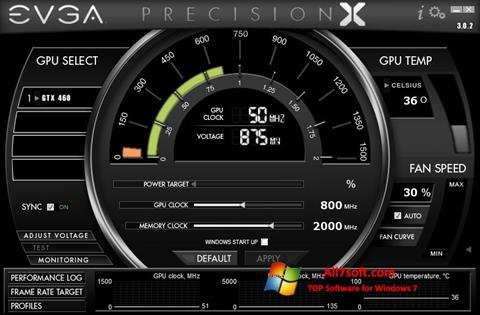 Στιγμιότυπο οθόνης EVGA Precision X Windows 7
