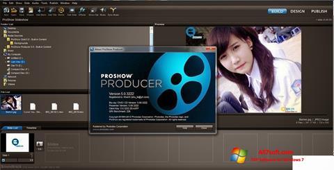 Στιγμιότυπο οθόνης ProShow Producer Windows 7