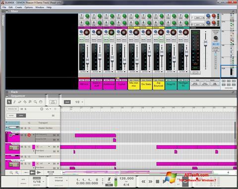 Στιγμιότυπο οθόνης Reason Windows 7