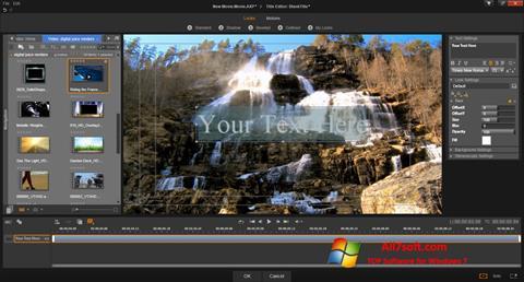 Στιγμιότυπο οθόνης Pinnacle Studio Windows 7