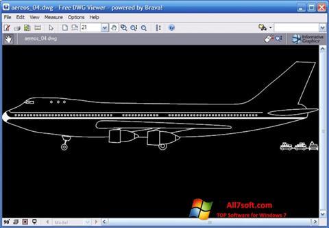 Στιγμιότυπο οθόνης DWG Viewer Windows 7