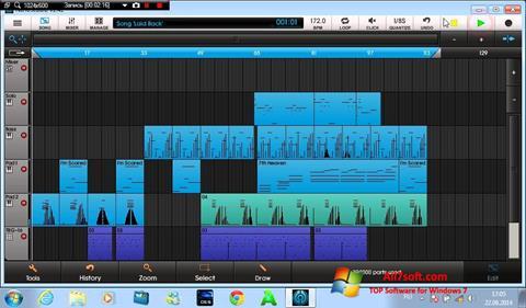 Στιγμιότυπο οθόνης NanoStudio Windows 7