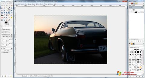 Στιγμιότυπο οθόνης GIMP Windows 7