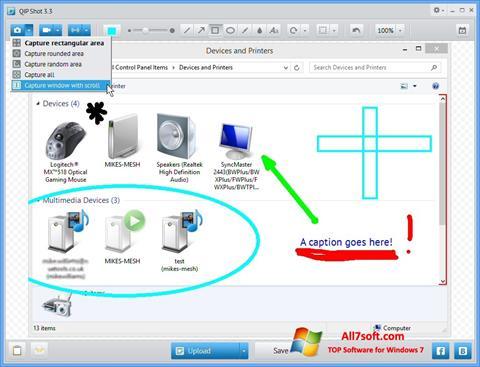 Στιγμιότυπο οθόνης QIP Windows 7