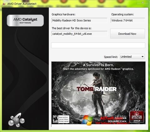 Στιγμιότυπο οθόνης AMD Driver Autodetect Windows 7