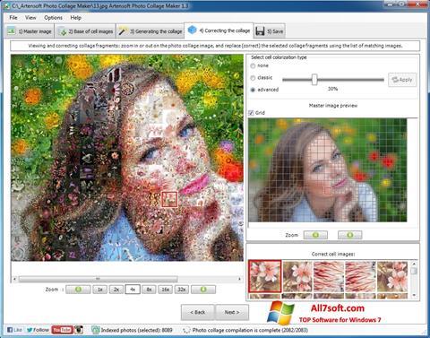 Στιγμιότυπο οθόνης Photo Collage Maker Windows 7