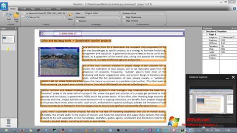 Στιγμιότυπο οθόνης Readiris Pro Windows 7