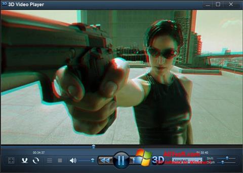 Στιγμιότυπο οθόνης 3D Video Player Windows 7
