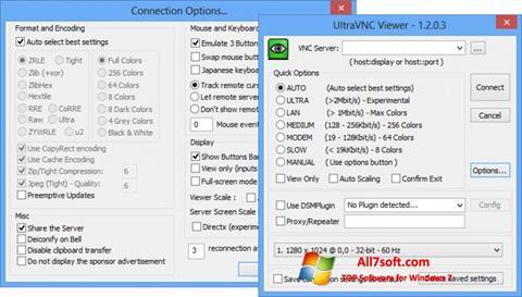 Στιγμιότυπο οθόνης UltraVNC Windows 7
