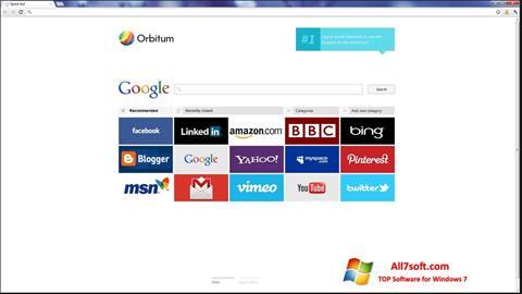 Στιγμιότυπο οθόνης Orbitum Windows 7