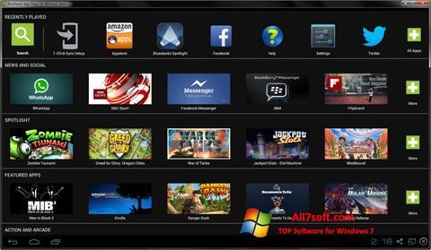 Στιγμιότυπο οθόνης BlueStacks Windows 7