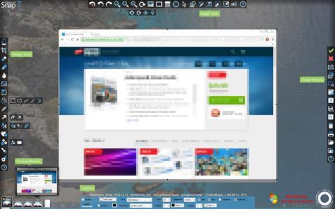 Στιγμιότυπο οθόνης Ashampoo Snap Windows 7
