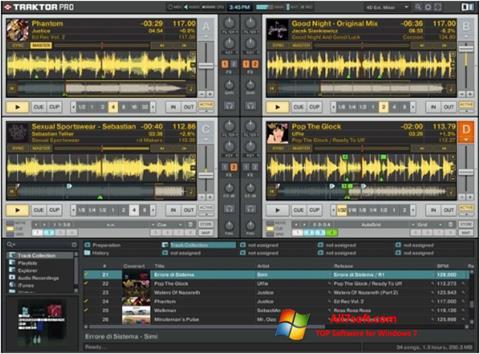Στιγμιότυπο οθόνης Traktor PRO Windows 7