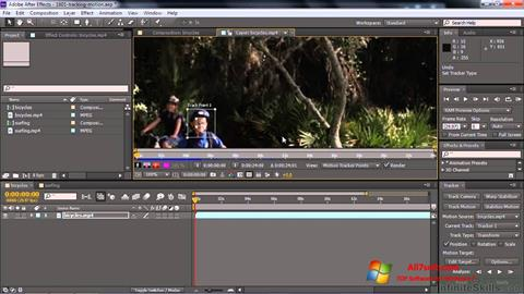 Στιγμιότυπο οθόνης Adobe After Effects CC Windows 7