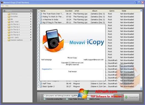 Στιγμιότυπο οθόνης iCopy Windows 7