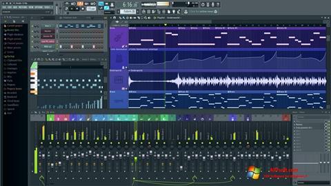 Στιγμιότυπο οθόνης FL Studio Windows 7