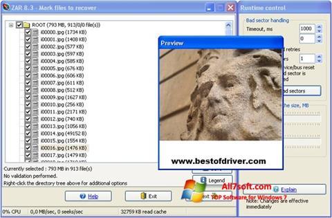 Στιγμιότυπο οθόνης Zero Assumption Recovery Windows 7