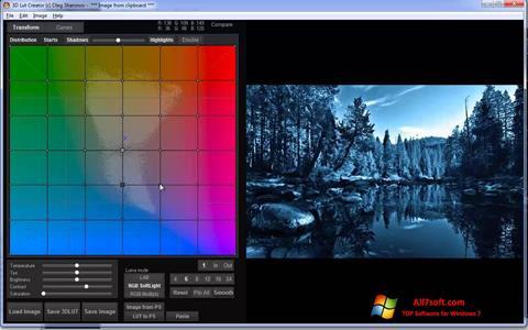 Στιγμιότυπο οθόνης 3D LUT Creator Windows 7