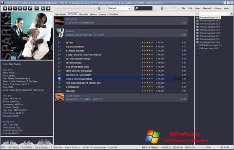 Στιγμιότυπο οθόνης Foobar2000 Windows 7