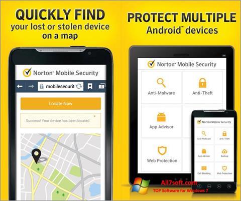 Στιγμιότυπο οθόνης Norton Mobile Security Windows 7