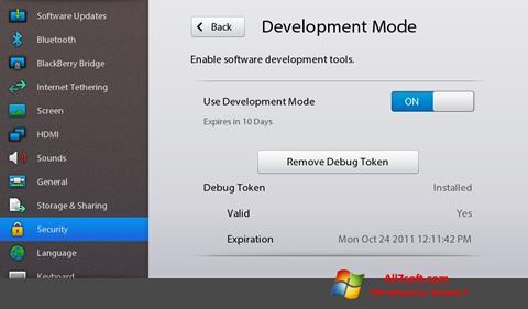 Στιγμιότυπο οθόνης Adobe AIR Windows 7