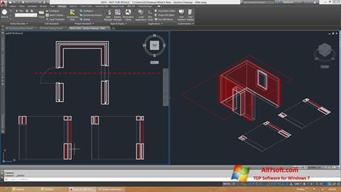 Στιγμιότυπο οθόνης AutoCAD Architecture Windows 7